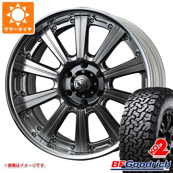 正規品 サマータイヤ 275/55R20 115/112S BFグッドリッチ オールテレーン T/A KO2 ブラックレター スーパースター ピュアスピリッツ サフォーク XC 8.0-20 タイヤホイール4本セット