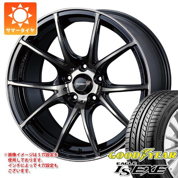 サマータイヤ 205/45R16 87W XL グッドイヤー イーグル LSエグゼ ウェッズスポーツ SA-10R 6.5-16 タイヤホイール4本セット