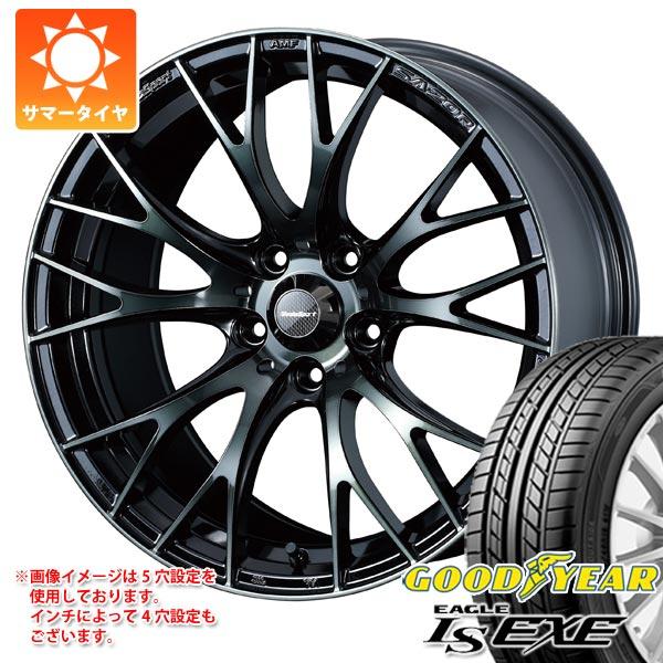 2020年製 サマータイヤ 185/55R15 82V グッドイヤー イーグル LSエグゼ ウェッズスポーツ SA-20R 6.0-15 タイヤホイール4本セット