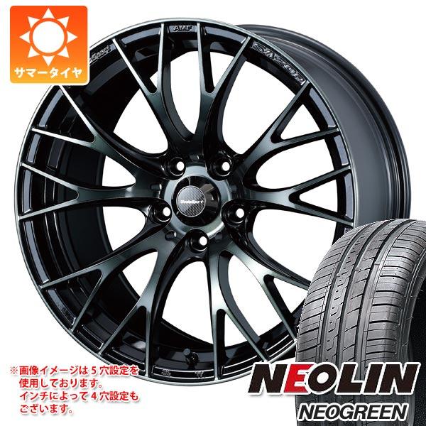 サマータイヤ 185/60R15 84H ネオリン ネオグリーン ウェッズスポーツ SA-20R 6.0-15 タイヤホイール4本セット