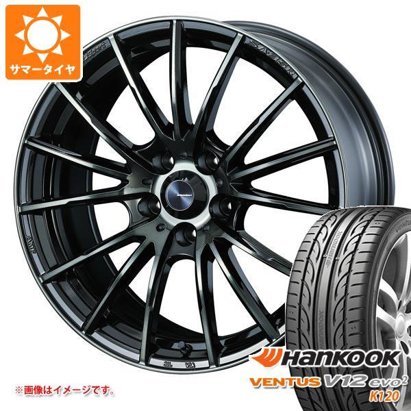 サマータイヤ 195/50R15 82V ハンコック ベンタス V12evo2 K120 ウェッズスポーツ SA-35R 6.0-15 タイヤホイール4本セット