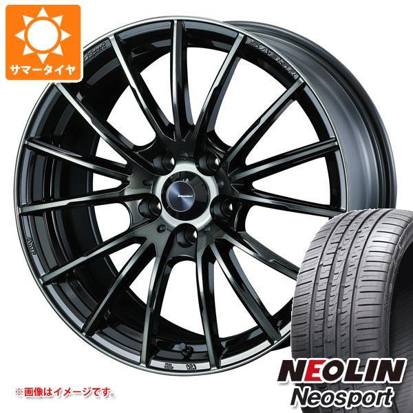 サマータイヤ 225/40R18 92W XL ネオリン ネオスポーツ ウェッズスポーツ SA-35R 7.5-18 タイヤホイール4本セット