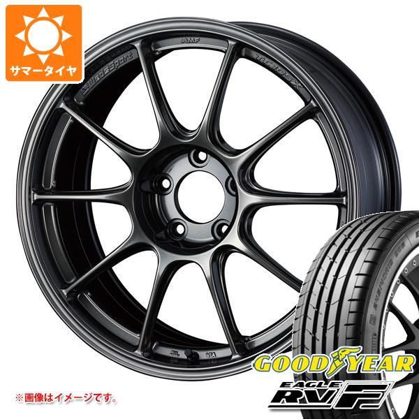 サマータイヤ 215/50R18 92V グッドイヤー イーグル RV-F ウェッズスポーツ TC105X 8.0-18 タイヤホイール4本セット