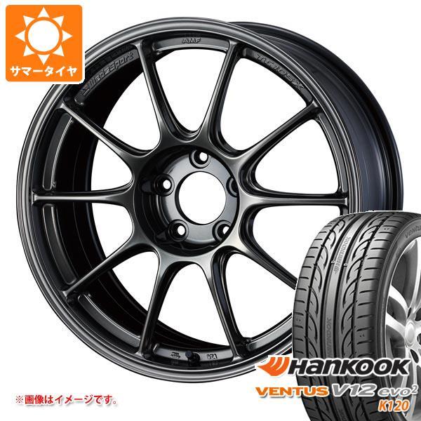 サマータイヤ 215/45R17 91Y XL ハンコック ベンタス V12evo2 K120 ウェッズスポーツ TC105X 8.0-17 タイヤホイール4本セット