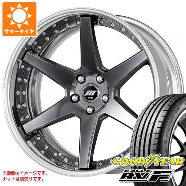 サマータイヤ 245/40R19 98W XL グッドイヤー イーグル RV-F バックレーベル ジースト BST1 8.0-19 タイヤホイール4本セット