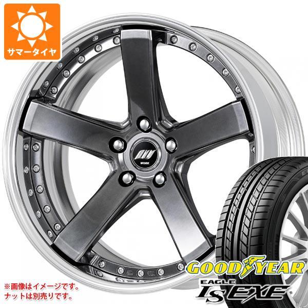 サマータイヤ 245/40R20 99W XL グッドイヤー イーグル LSエグゼ バックレーベル ジースト BST2 8.0-20 タイヤホイール4本セット