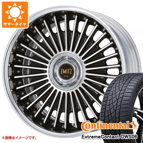 正規品 サマータイヤ 235/55R19 105W XL コンチネンタル エクストリームコンタクト DWS06 イミッツ 8.0-19 タイヤホイール4本セット