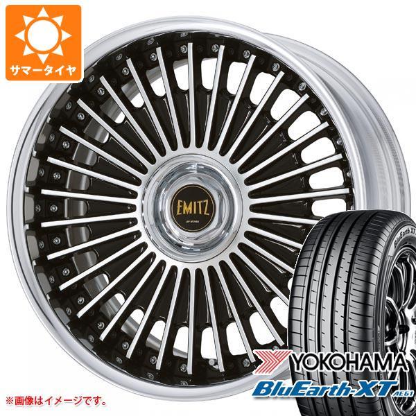 サマータイヤ 225/55R19 99V ヨコハマ ブルーアースXT AE61 2020年4月発売サイズ イミッツ 8.0-19 タイヤホイール4本セット
