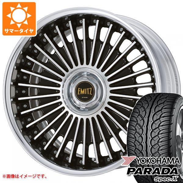 サマータイヤ 235/55R20 102V ヨコハマ パラダ スペック-X PA02 イミッツ 8.0-20 タイヤホイール4本セット