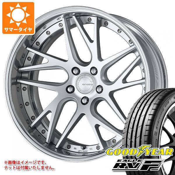 サマータイヤ 245/35R20 95W XL グッドイヤー イーグル RV-F グノーシス CVX 8.0-20 タイヤホイール4本セット