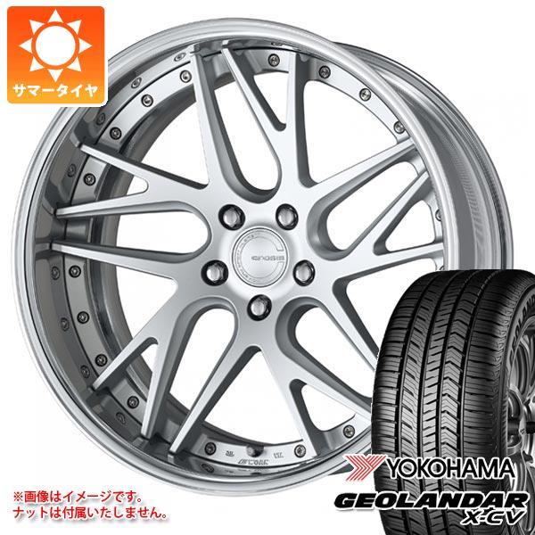 サマータイヤ 235/55R19 105W XL ヨコハマ ジオランダー X-CV G057 グノーシス CVX 8.0-19 タイヤホイール4本セット