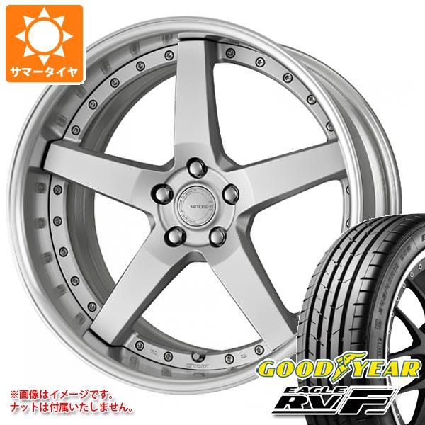 サマータイヤ 245/35R20 95W XL グッドイヤー イーグル RV-F グノーシス GR203 8.0-20 タイヤホイール4本セット