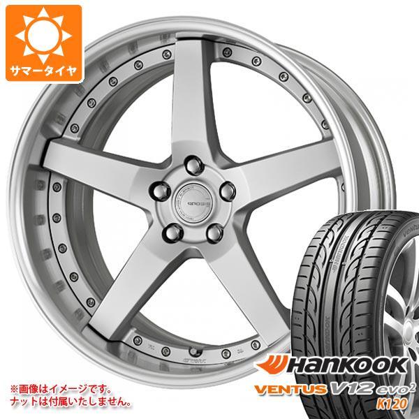 サマータイヤ 245/35R21 96Y XL ハンコック ベンタス V12evo2 K120 グノーシス GR203 8.5-21 タイヤホイール4本セット