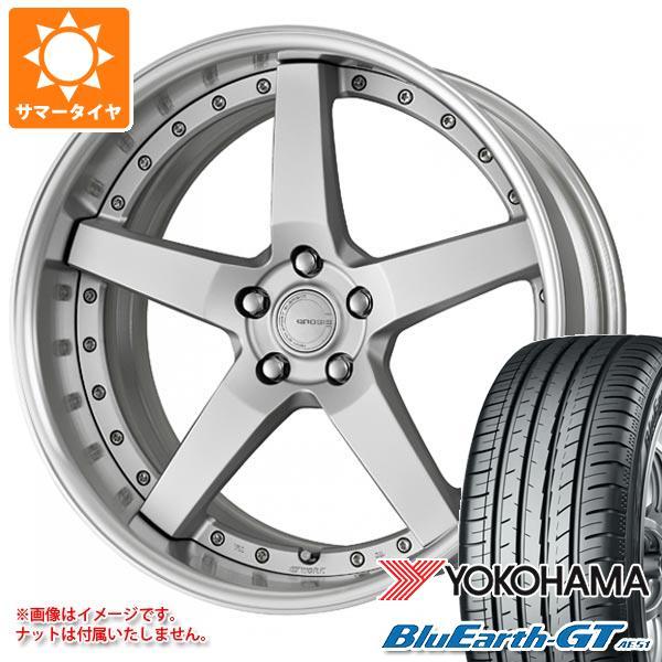 サマータイヤ 235/35R19 91W XL ヨコハマ ブルーアースGT AE51 グノーシス GR203 8.0-19 タイヤホイール4本セット