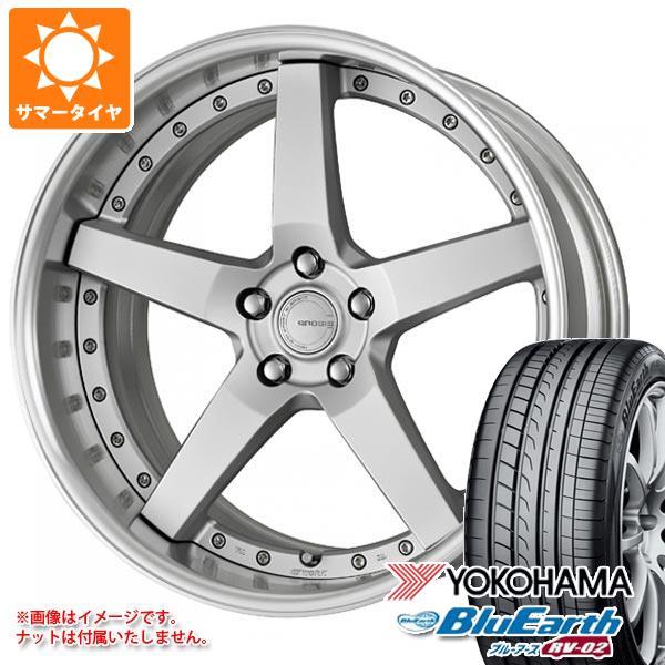 サマータイヤ 245/40R20 99W XL ヨコハマ ブルーアース RV-02 グノーシス GR203 8.0-20 タイヤホイール4本セット