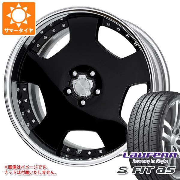 サマータイヤ 225/55R18 98W ラウフェン Sフィット AS LH01 ランベック LD1 8.0-18 タイヤホイール4本セット