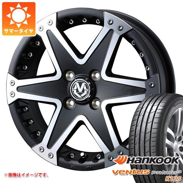 サマータイヤ 165/50R15 72V ハンコック ベンタス プライム3 K125 マッド ヴァンス 01 軽カー専用 5.0-15 タイヤホイール4本セット