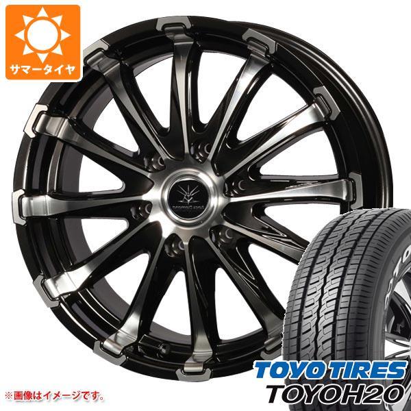 ハイエース 200系専用 サマータイヤ トーヨー H20 225/50R18C 107/105R ブラックレター バウンティコレクション BD12 タイヤホイール4本セット