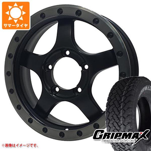 ジムニー専用 サマータイヤ グリップマックス グリップマックス A/T 215/70R16 100T アウトラインホワイトレター バウンティコレクション BDX05 タイヤホイール4本セット