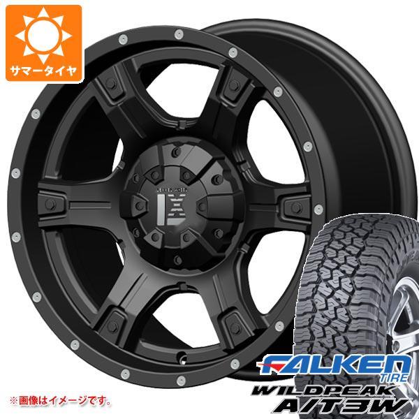 サマータイヤ 265/65R17 116S XL ファルケン ワイルドピーク A/T3W レクセル アウトロー オフロードスタイル 9.0-17 タイヤホイール4本セット