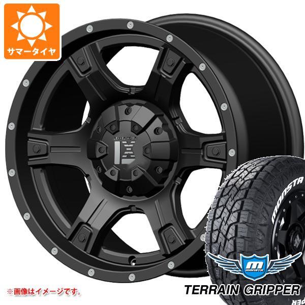 サマータイヤ 265/65R17 116T XL モンスタ テレーングリッパー ホワイトレター レクセル アウトロー オフロードスタイル 9.0-17 タイヤホイール4本セット