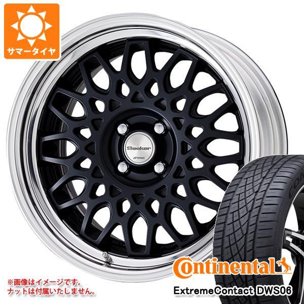 サマータイヤ 215/55R17 94W コンチネンタル エクストリームコンタクト DWS06 シーカー CX 7.0-17 タイヤホイール4本セット