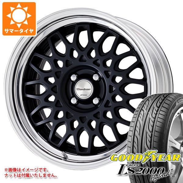 サマータイヤ 195/40R17 81W グッドイヤー イーグル LS2000 ハイブリッド2 シーカー CX 7.0-17 タイヤホイール4本セット