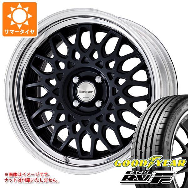 サマータイヤ 205/55R16 94V XL グッドイヤー イーグル RV-F シーカー CX 7.0-16 タイヤホイール4本セット