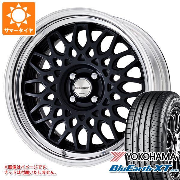 サマータイヤ 215/60R16 95V ヨコハマ ブルーアースXT AE61 シーカー CX 7.0-16 タイヤホイール4本セット