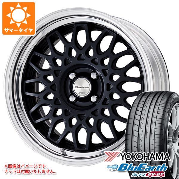 サマータイヤ 215/45R17 91W XL ヨコハマ ブルーアース RV-02 シーカー CX 7.0-17 タイヤホイール4本セット
