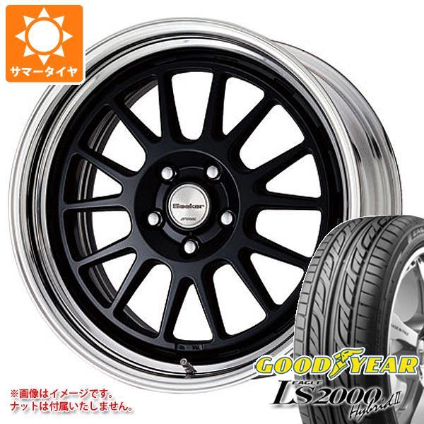 サマータイヤ 195/40R17 81W グッドイヤー イーグル LS2000 ハイブリッド2 シーカー FX 7.0-17 タイヤホイール4本セット