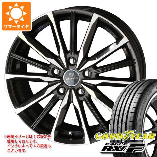 サマータイヤ 215/60R16 95H グッドイヤー イーグル RV-F スマック ヴァルキリー 6.5-16 タイヤホイール4本セット