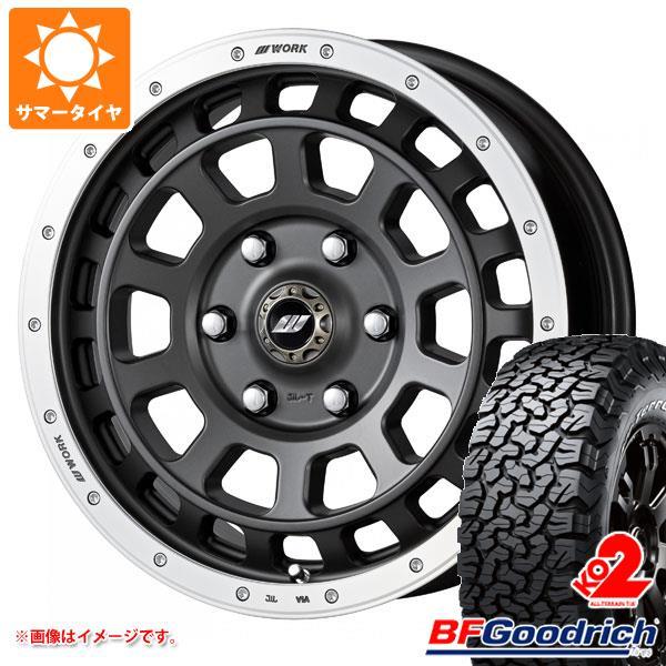サマータイヤ 215/70R16 100/97R BFグッドリッチ オールテレーン T/A KO2 ホワイトレター クラッグ T-グラビック 7.0-16 タイヤホイール4本セット