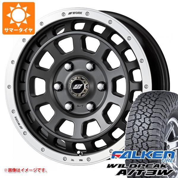 サマータイヤ 235/70R16 109T XL ファルケン ワイルドピーク A/T3W クラッグ T-グラビック 7.0-16 タイヤホイール4本セット