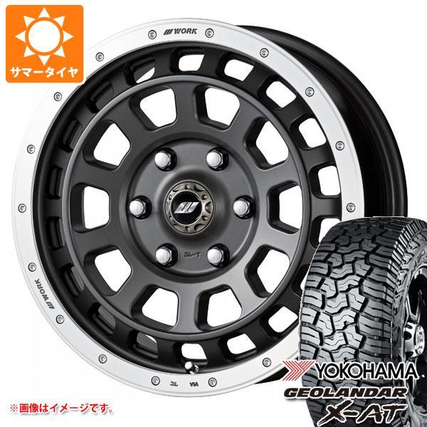 サマータイヤ 235/70R16 104/101Q ヨコハマ ジオランダー X-AT G016 クラッグ T-グラビック 7.0-16 タイヤホイール4本セット