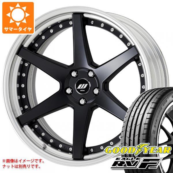 サマータイヤ 245/35R20 95W XL グッドイヤー イーグル RV-F ジースト ST1 8.0-20 タイヤホイール4本セット