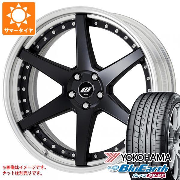 サマータイヤ 245/40R20 99W XL ヨコハマ ブルーアース RV-02 ジースト ST1 8.0-20 タイヤホイール4本セット