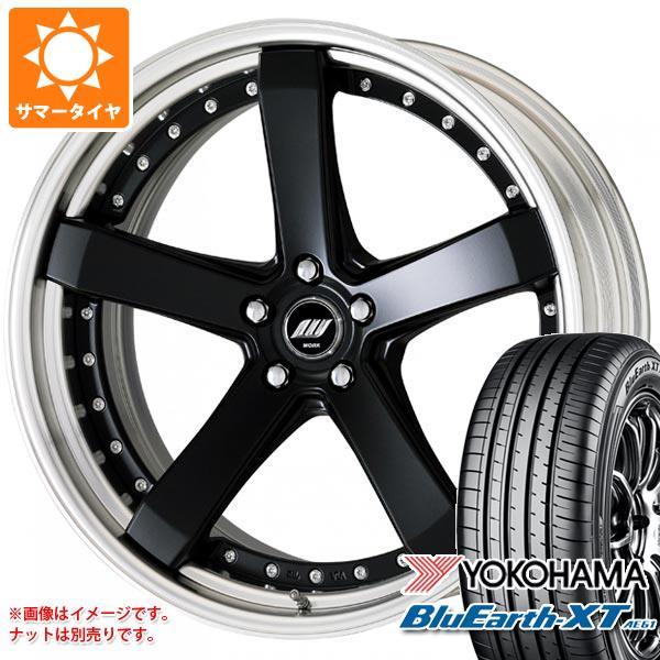 サマータイヤ 235/55R20 102V ヨコハマ ブルーアースXT AE61 ジースト ST2 8.0-20 タイヤホイール4本セット