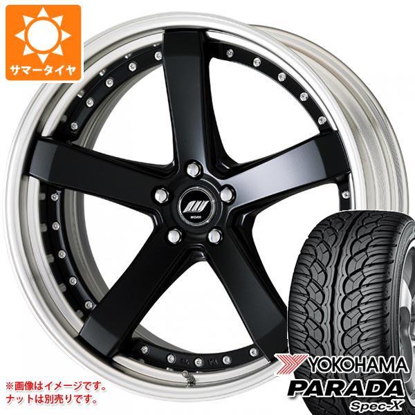 サマータイヤ 235/55R20 102V ヨコハマ パラダ スペック-X PA02 ジースト ST2 8.0-20 タイヤホイール4本セット