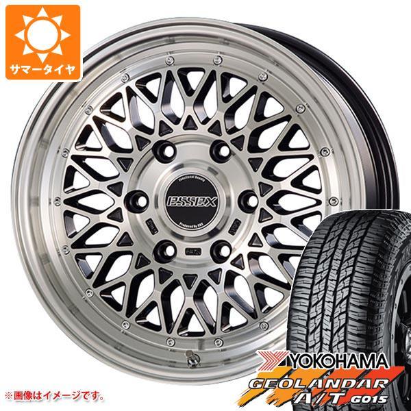 ハイエース 200系専用 サマータイヤ ヨコハマ ジオランダー A/T G015 215/70R16 100H ブラックレター エセックス ENCM タイヤホイール4本セット