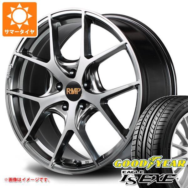 サマータイヤ 215/40R18 89W XL グッドイヤー イーグル LSエグゼ RMP 025F 7.0-18 タイヤホイール4本セット