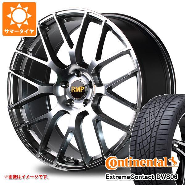 サマータイヤ 235/55R19 105W XL コンチネンタル エクストリームコンタクト DWS06 RMP 028F 7.5-19 タイヤホイール4本セット