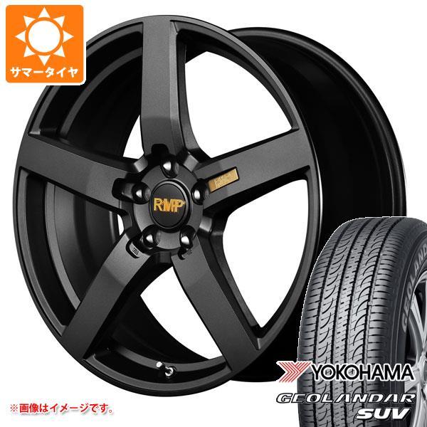 サマータイヤ 215/55R18 99V XL ヨコハマ ジオランダーSUV G055 RMP 050F 7.0-18 タイヤホイール4本セット