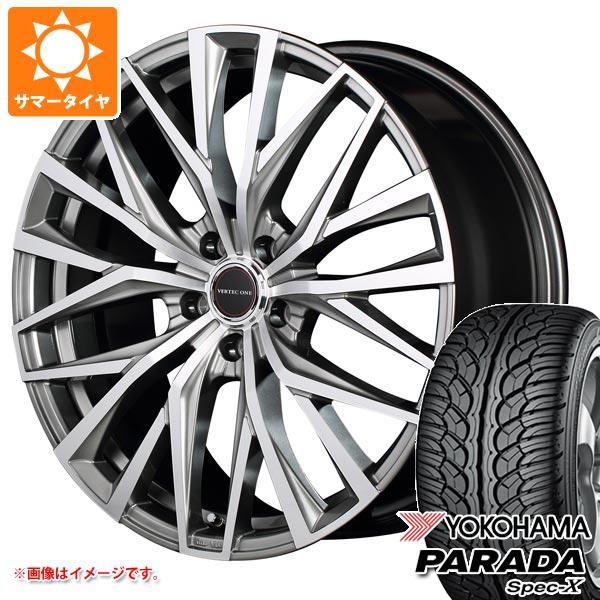 サマータイヤ 235/55R20 102V ヨコハマ パラダ スペック-X PA02 ヴァーテックワン アルバトロス 8.5-20 タイヤホイール4本セット