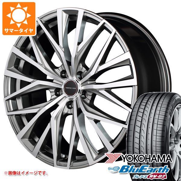 サマータイヤ 155/65R14 75H ヨコハマ ブルーアース RV-02CK ヴァーテックワン アルバトロス 4.5-14 タイヤホイール4本セット