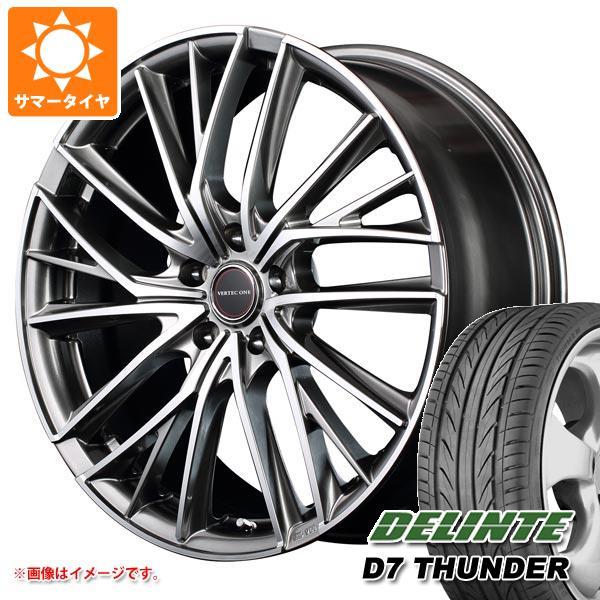 サマータイヤ 205/40R17 84W XL デリンテ D7 サンダー ヴァーテックワン ヴァルチャー 6.5-17 タイヤホイール4本セット