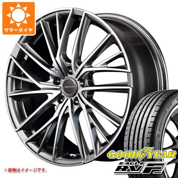 サマータイヤ 245/45R18 100W XL グッドイヤー イーグル RV-F ヴァーテックワン ヴァルチャー 8.0-18 タイヤホイール4本セット