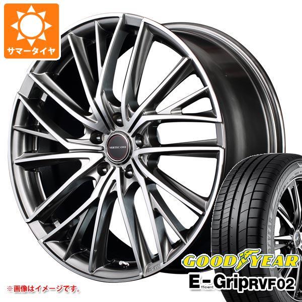 大切な サマータイヤ 225/50R18 99V XL グッドイヤー エフィシエントグリップ RVF02 ヴァーテックワン ヴァルチャー 7.0-18 タイヤホイール4本セット, 紳士靴ブランド専門シューズアマン ece47ca2