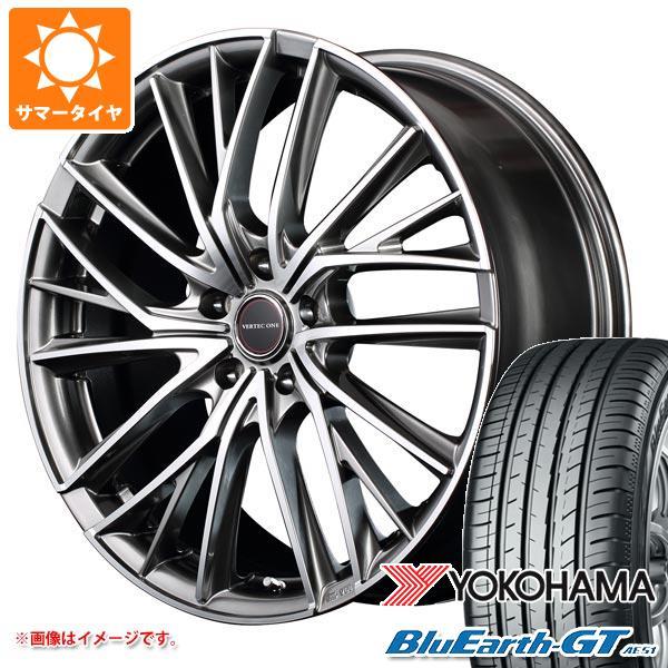 サマータイヤ 185/55R15 82V ヨコハマ ブルーアースGT AE51 ヴァーテックワン ヴァルチャー 5.5-15 タイヤホイール4本セット