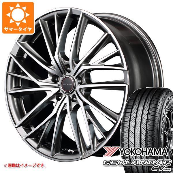 サマータイヤ 225/60R18 100H ヨコハマ ジオランダー CV 2020年4月発売サイズ ヴァーテックワン ヴァルチャー 7.0-18 タイヤホイール4本セット